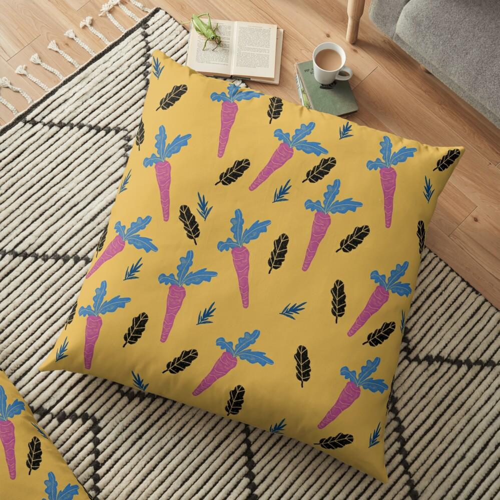 Carrots pattern  Floor Pillow