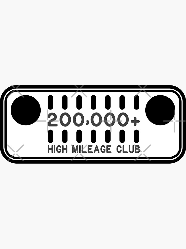 Jeep High Mileage Club - 200,000+ Miles by brainthought