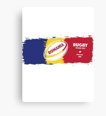 Romania Rugby World Cup Canvas Print
