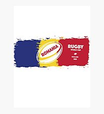 Romania Rugby World Cup Photographic Print