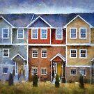 Town House by Linda Miller Gesualdo