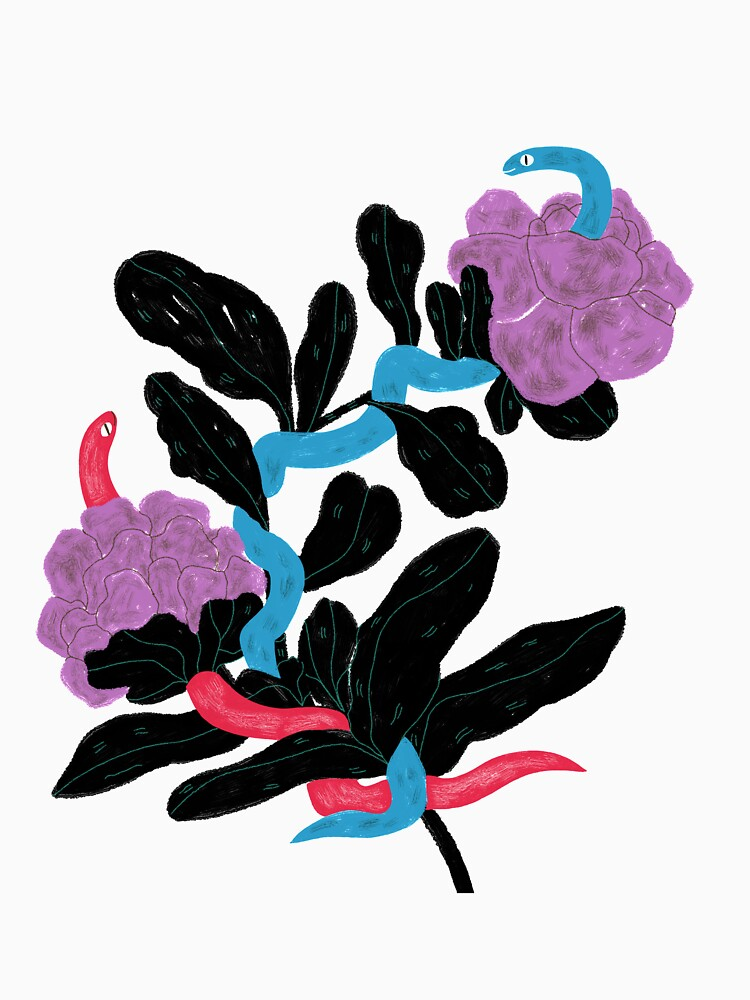 Snakes and flowers by spoto