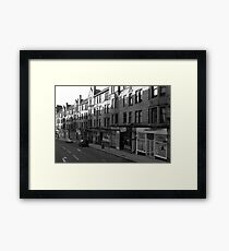 Glasgow streetscape 1 Framed Print