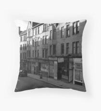 Glasgow streetscape 1 Throw Pillow