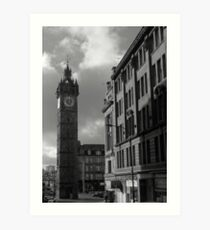 Glasgow streetscape 2 Art Print