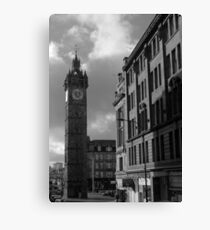 Glasgow streetscape 2 Canvas Print