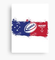 Samoa Rugby World Cup Canvas Print