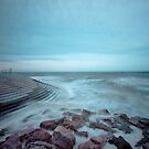 Cleveleys Sea Defences by John Hare