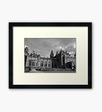 Glasgow streetscape 3 Framed Print
