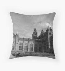 Glasgow streetscape 3 Throw Pillow