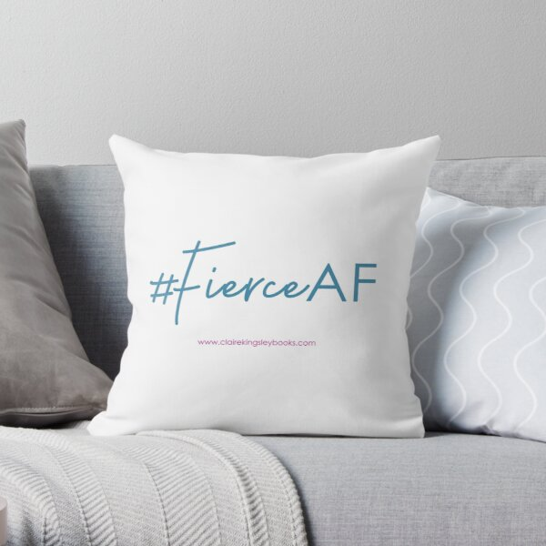 Fierce AF Throw Pillow