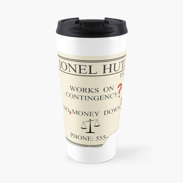 Lionel Hutz - No, money down! Travel Mug
