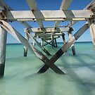 Eucla Old jetty by Colin Dixon