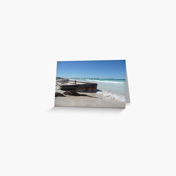 Eucla Old Jetty 2 Greeting Card