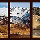 Icelandic Villages Triptych - Southern, Iceland by Matthew Kocin