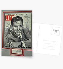 FRANK SINATRA LIFE COVER  Postcards