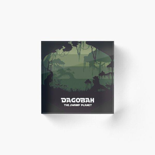 Dagobah  Acrylic Block