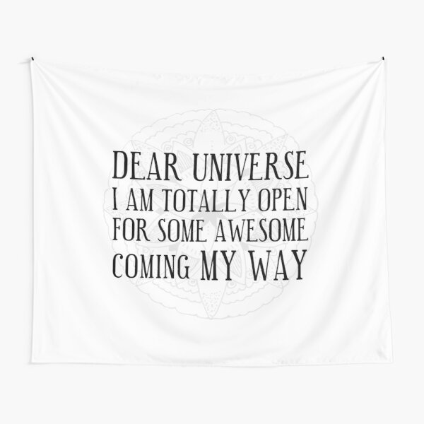 make a wish Tapestry