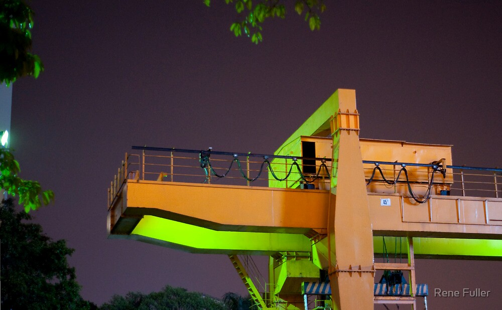 Green Monster... by Rene Fuller