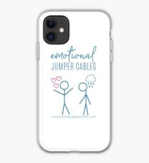 Emotional Jumper Cables iPhone Case