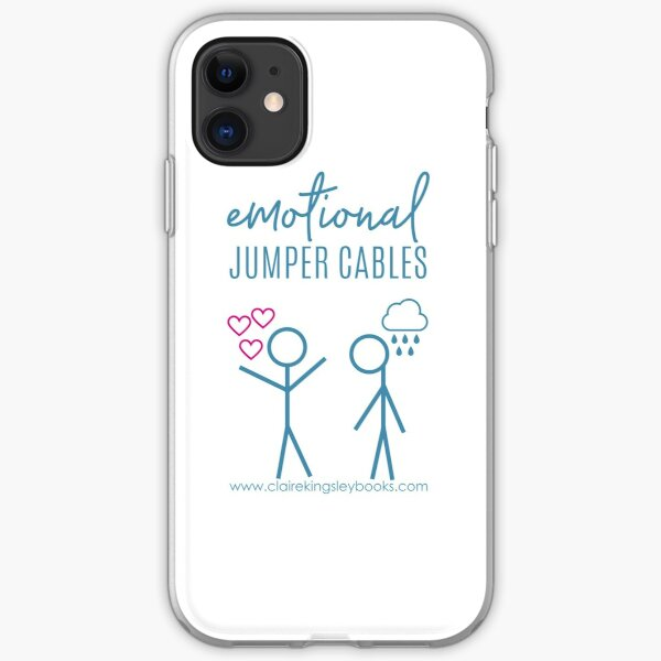 Emotional Jumper Cables iPhone Soft Case