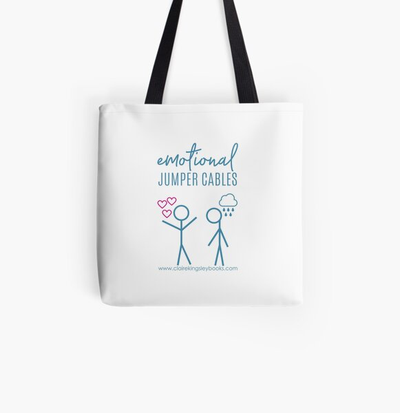Emotional Jumper Cables All Over Print Tote Bag