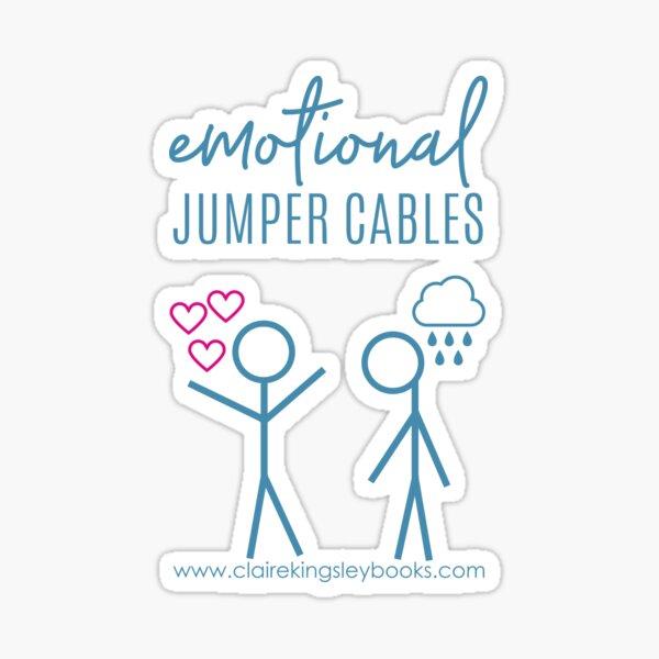 Emotional Jumper Cables Sticker