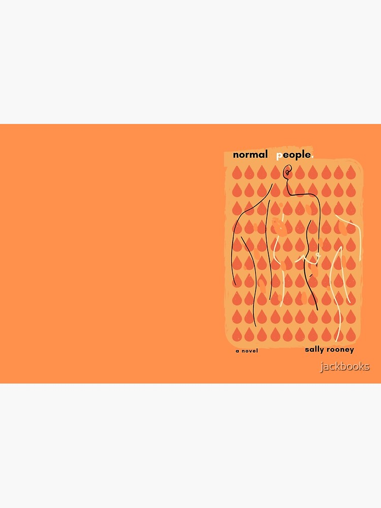 Normal People - Book cover design by jackbooks