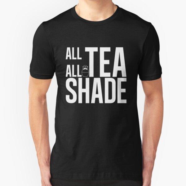 All Tea all Shade Black Slim Fit T-Shirt