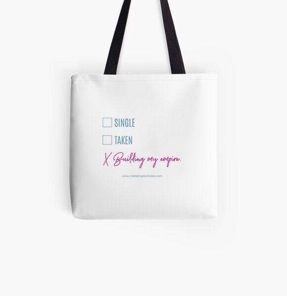 Building My Empire All Over Print Tote Bag