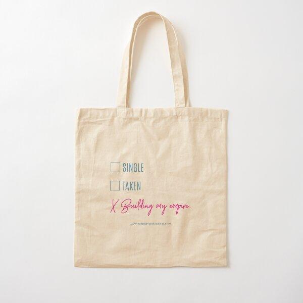 Building My Empire Cotton Tote Bag