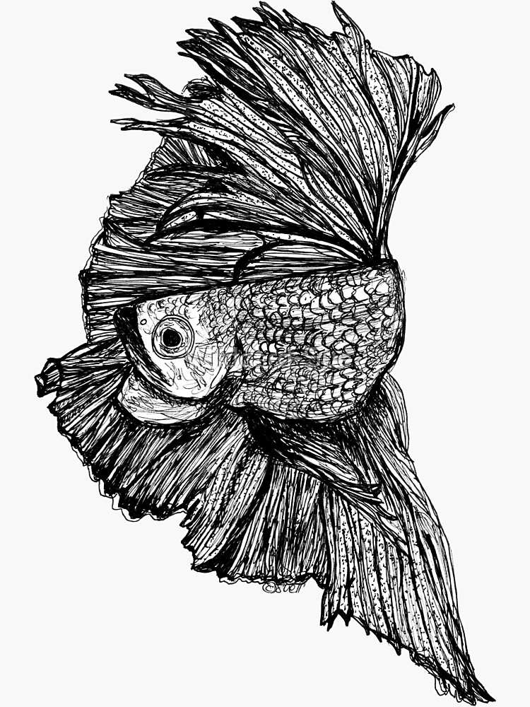 Gloria the Fighting Fish by Wildcard-Sue