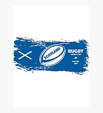 Scotland Rugby World Cup Photographic Print
