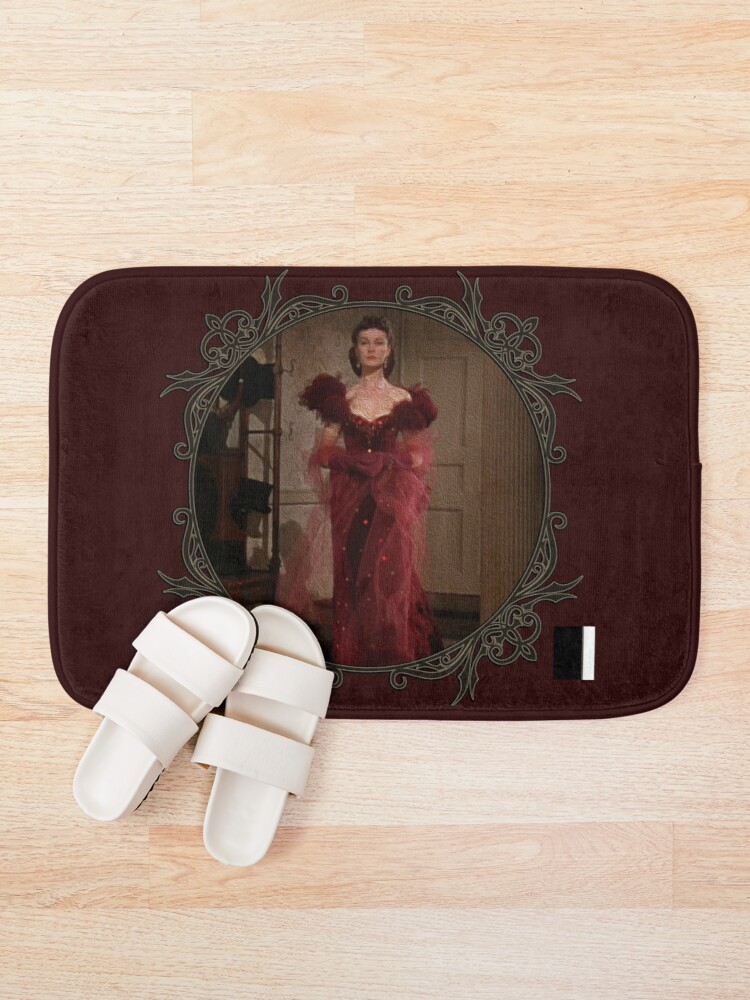 Alternate view of Scarlett Red Dress Bath Mat
