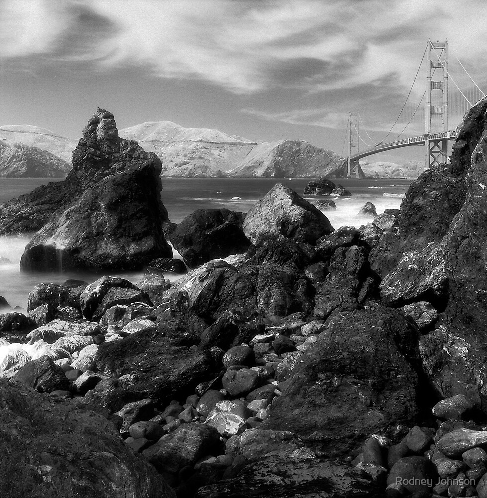 Marshall's Beach, San Francisco by Rodney Johnson