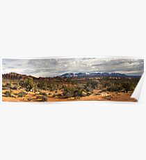 La Sal Mountains Poster