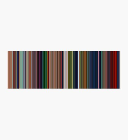 Moviebarcode: The Lion King (1994) [Simplified Colors] Photographic Print