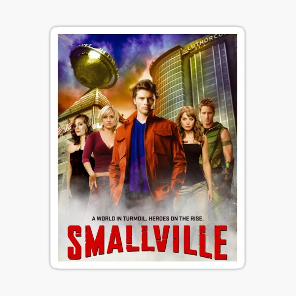 Smallville Série télé Top Sticker