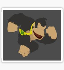 Donkey Kong (Black) - Super Smash Bros. Sticker