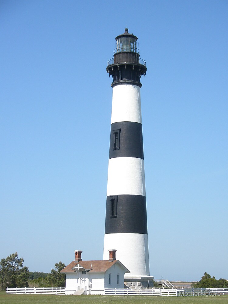 Bodie Lighthouse - Outer Banks, NC by MotherNature