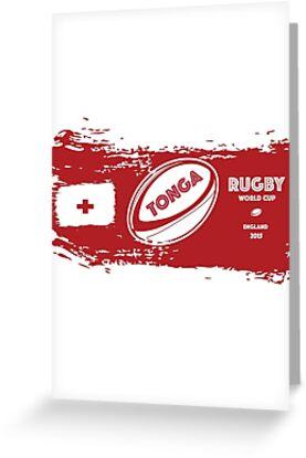 Tonga Rugby Weltmeisterschaft von afromedia