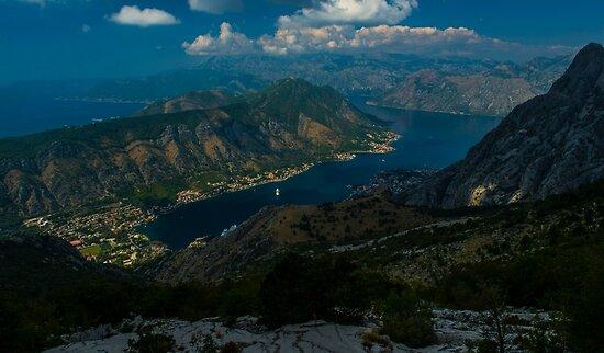 Kotor Bay in Montenegro by JBlaminsky