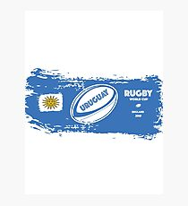 Uruguay Rugby World Cup Photographic Print
