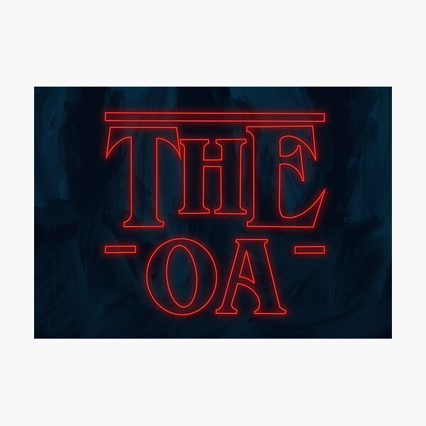 The OA - ST Logo Photographic Print