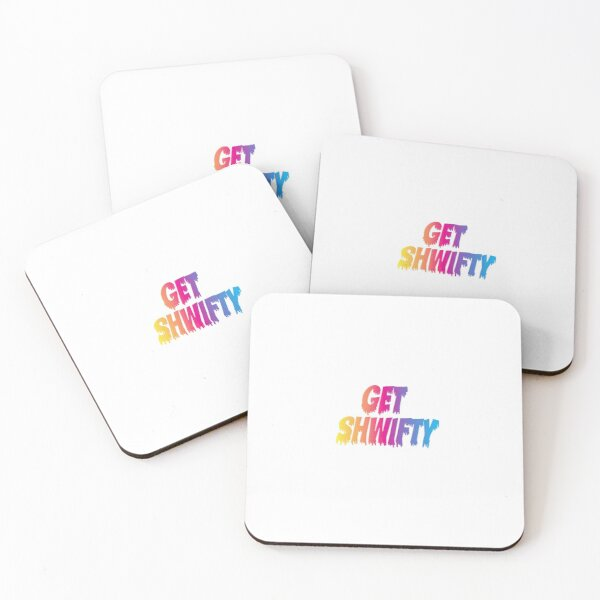 Get Shwifty Coasters (Set of 4)
