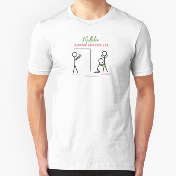 Seasons Greetings Slim Fit T-Shirt
