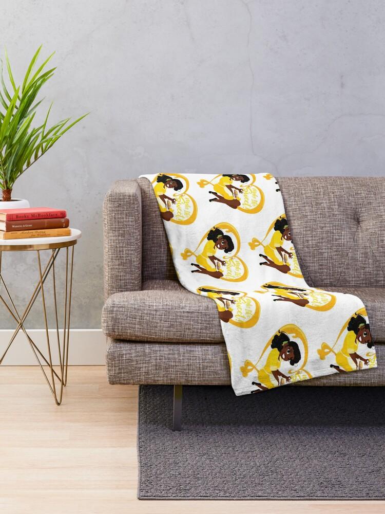 Alternate view of Make Life Sweet  Throw Blanket