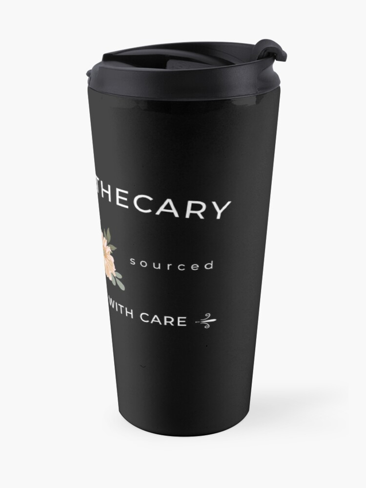 Alternate view of Rose Apothecary handcrafted with care Travel Mug