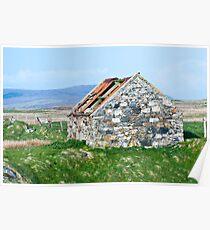 Building, Byre, Barn, Abandoned Poster