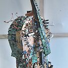 Displaced Cello. by Andy Nawroski